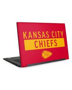 Kansas City Chiefs Red Performance Series Dell Latitude Skin