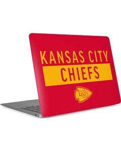 Kansas City Chiefs Red Performance Series Apple MacBook Air Skin