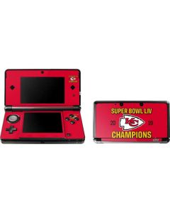 Kansas City Chiefs Super Bowl LIV Champions 3DS (2011) Skin