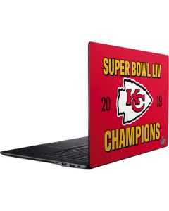 Kansas City Chiefs Super Bowl LIV Champions Ativ Book 9 (15.6in 2014) Skin