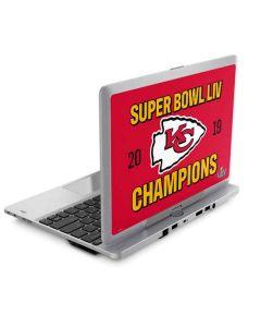 Kansas City Chiefs Super Bowl LIV Champions Elitebook Revolve 810 Skin