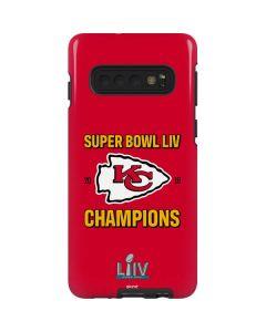 Kansas City Chiefs Super Bowl LIV Champions Galaxy S10 Pro Case