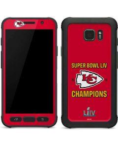 Kansas City Chiefs Super Bowl LIV Champions Galaxy S7 Active Skin