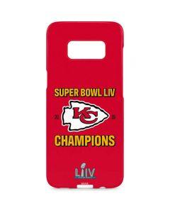 Kansas City Chiefs Super Bowl LIV Champions Galaxy S8 Plus Lite Case