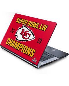 Kansas City Chiefs Super Bowl LIV Champions Generic Laptop Skin