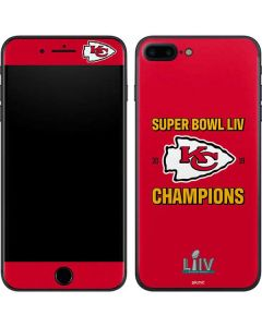 Kansas City Chiefs Super Bowl LIV Champions iPhone 8 Plus Skin