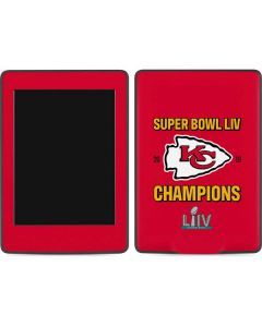 Kansas City Chiefs Super Bowl LIV Champions Amazon Kindle Skin