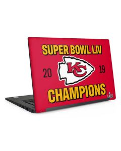 Kansas City Chiefs Super Bowl LIV Champions Dell Latitude Skin