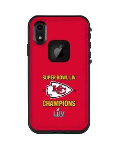 Kansas City Chiefs Super Bowl LIV Champions LifeProof Fre iPhone Skin