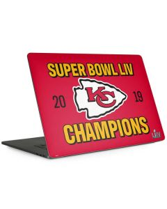 Kansas City Chiefs Super Bowl LIV Champions Apple MacBook Pro 15-inch Skin