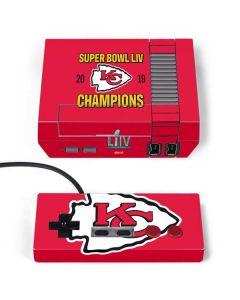 Kansas City Chiefs Super Bowl LIV Champions NES Classic Edition Skin