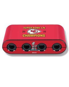 Kansas City Chiefs Super Bowl LIV Champions Nintendo GameCube Controller Adapter Skin