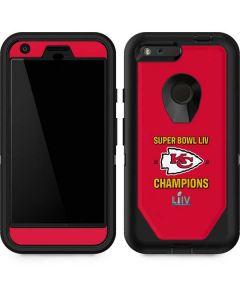 Kansas City Chiefs Super Bowl LIV Champions Otterbox Defender Pixel Skin