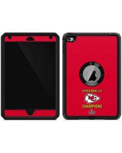 Kansas City Chiefs Super Bowl LIV Champions Otterbox Defender iPad Skin