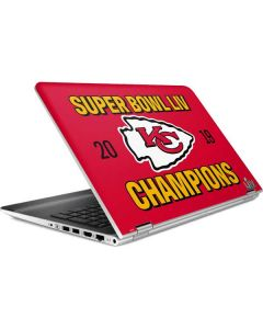 Kansas City Chiefs Super Bowl LIV Champions HP Pavilion Skin