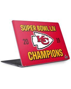 Kansas City Chiefs Super Bowl LIV Champions Surface Laptop 2 Skin