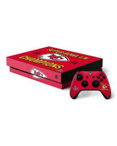 Kansas City Chiefs Super Bowl LIV Champions Xbox One X Bundle Skin