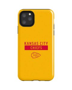 Kansas City Chiefs Yellow Performance Series iPhone 11 Pro Max Impact Case