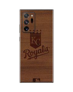 Kansas City Royals Engraved Galaxy Note20 Ultra 5G Skin