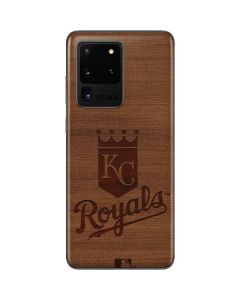 Kansas City Royals Engraved Galaxy S20 Ultra 5G Skin