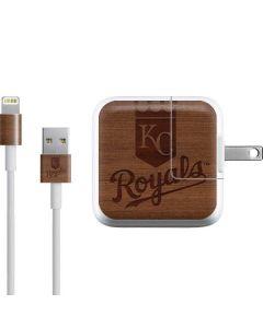Kansas City Royals Engraved iPad Charger (10W USB) Skin