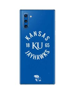 Kansas Jayhawks KY 1865 Galaxy Note 10 Skin
