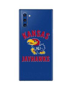 Kansas Jayhawks Mascot Galaxy Note 10 Skin