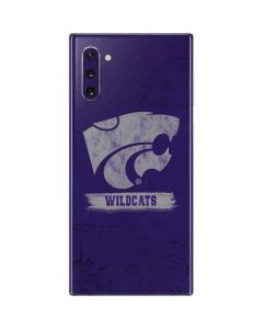 Kansas State Wildcats Distressed Galaxy Note 10 Skin