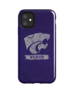 Kansas State Wildcats Distressed iPhone 11 Impact Case