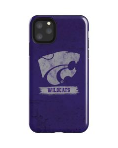 Kansas State Wildcats Distressed iPhone 11 Pro Max Impact Case