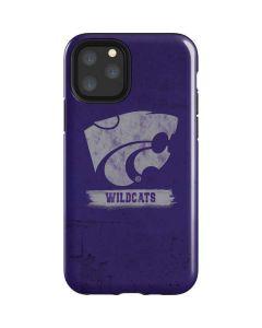 Kansas State Wildcats Distressed iPhone 11 Pro Impact Case