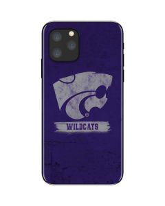Kansas State Wildcats Distressed iPhone 11 Pro Skin