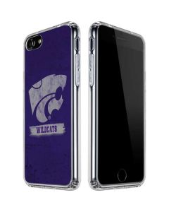 Kansas State Wildcats Distressed iPhone SE Clear Case