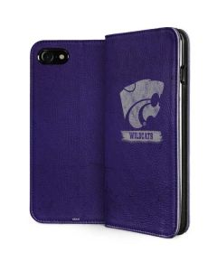 Kansas State Wildcats Distressed iPhone SE Folio Case