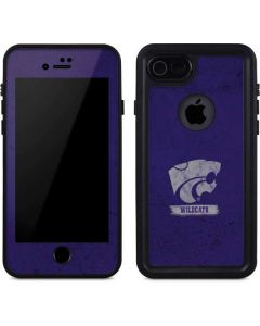 Kansas State Wildcats Distressed iPhone SE Waterproof Case