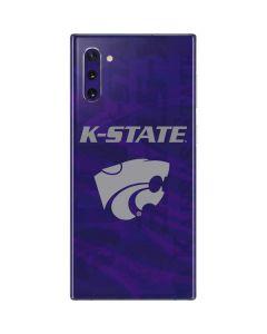 Kansas State Wildcats Pattern Galaxy Note 10 Skin