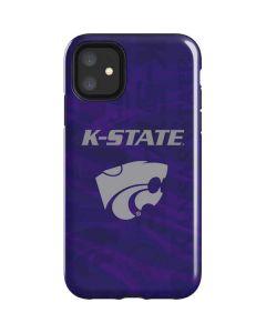 Kansas State Wildcats Pattern iPhone 11 Impact Case