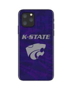 Kansas State Wildcats Pattern iPhone 11 Pro Skin