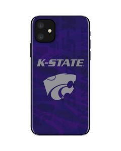 Kansas State Wildcats Pattern iPhone 11 Skin