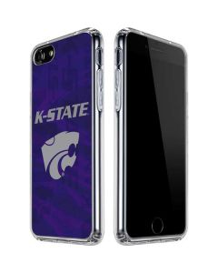 Kansas State Wildcats Pattern iPhone SE Clear Case
