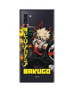 Katsuki Bakugo Galaxy Note 10 Skin