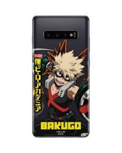 Katsuki Bakugo Galaxy S10 Plus Skin