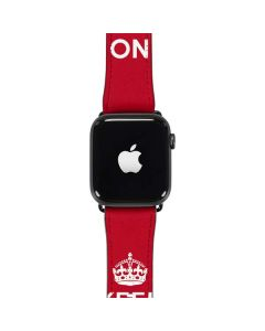Keep Calm and Carry On Apple Watch Band 42-44mm