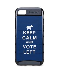 Keep Calm And Vote Left iPhone 8 Cargo Case
