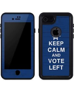 Keep Calm And Vote Left iPhone SE Waterproof Case