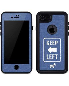 Keep Left iPhone SE Waterproof Case