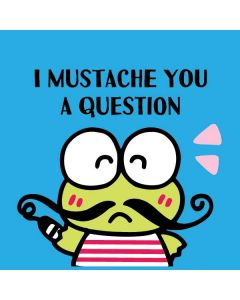 Keroppi I Mustache You A Question Cochlear Nucleus Freedom Kit Skin