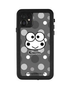 Keroppi Black and White iPhone 11 Waterproof Case