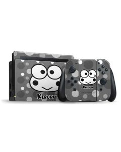 Keroppi Black and White Nintendo Switch Bundle Skin