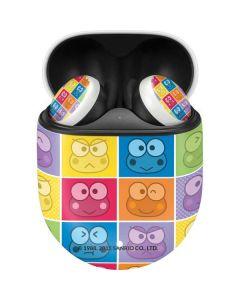 Keroppi Colorful Google Pixel Buds Skin